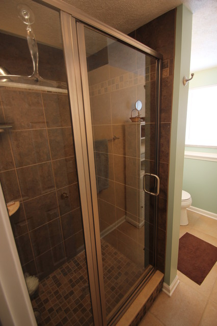 Shower Squeegee Bathroom Traditional with Bathroom Remodel Cleveland Small