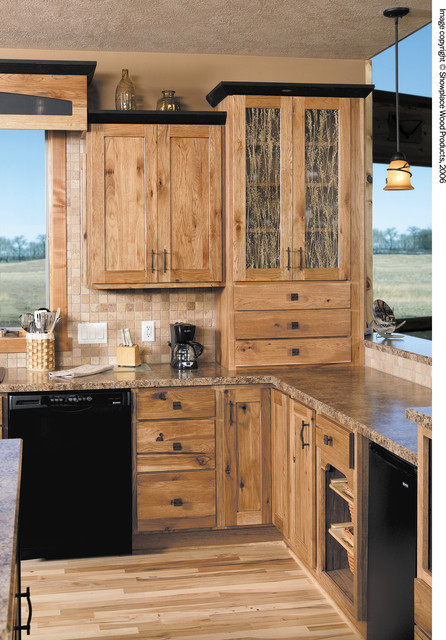 Showplace Cabinets Kitchen Traditional with Amber Cabinet Charcoal Cabinets1