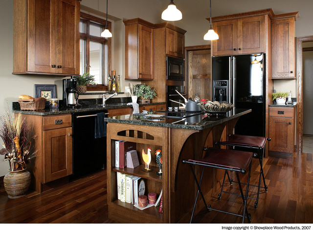 Showplace Cabinets Kitchen Traditional with Autumn Autumn Finish Cabinet
