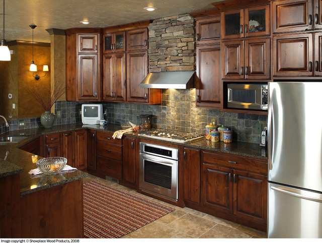 Showplace Cabinets Kitchen Traditional with Autumn Cabinet Cooktop Covington