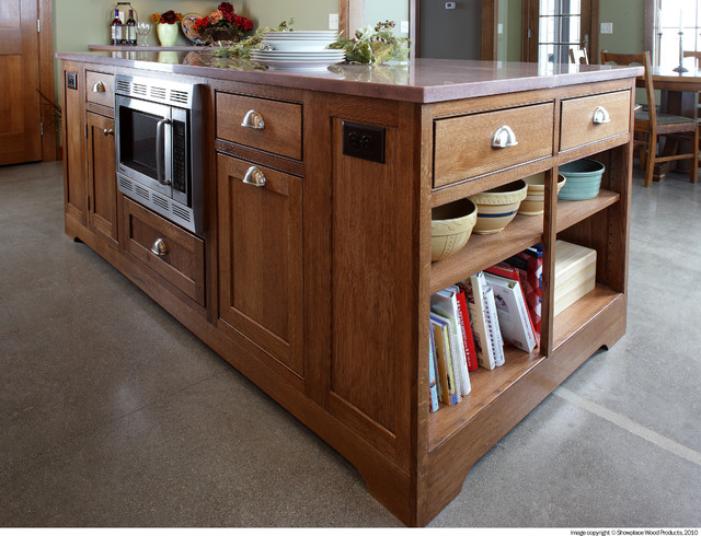 Showplace Cabinets Kitchen Traditional with Cabinet Hood Island Kitchen
