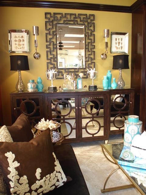 Sideboard Buffet Living Room Contemporary with Brown Buffet Chocolate Circles
