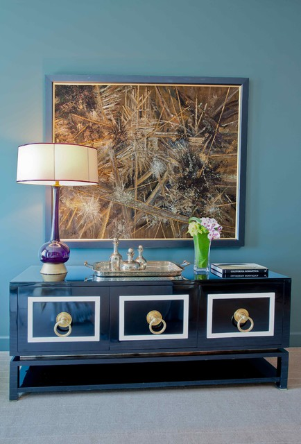 Sideboard Buffet Spaces Contemporary with Blue Brass Chasens Sideboard