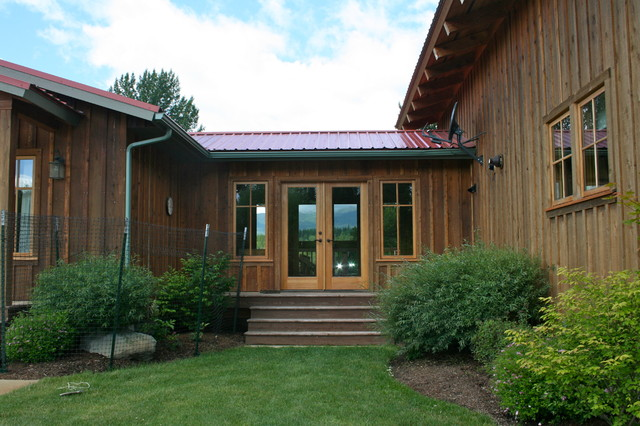 Sikkens Cetol Srd Exterior Rustic with Board and Batten Breezeway