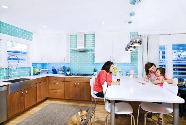 Silestone Countertops Kitchen Eclectic with Bar Stool Breakfast Bar1