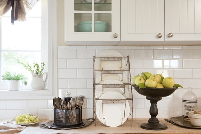 Silverware Caddy Kitchen Traditional with Caddy Fresh Fruit Ironstone