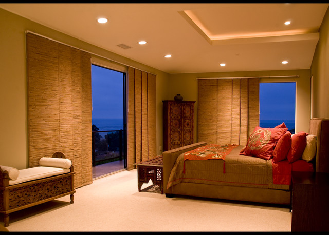 Sliding Panel Blinds Bedroom Asian with Bamboo Screens Bamboo Sliding