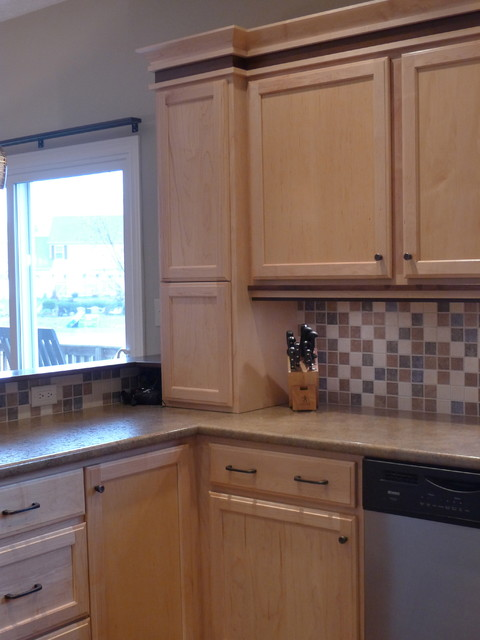 Sliding Panel Blinds Kitchen Contemporary with Architectural Trim High Definition