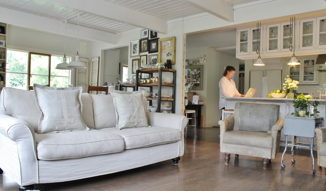 Slipcovered Sofas Living Room Farmhouse with Collections Farmhouse Industrial Rustic