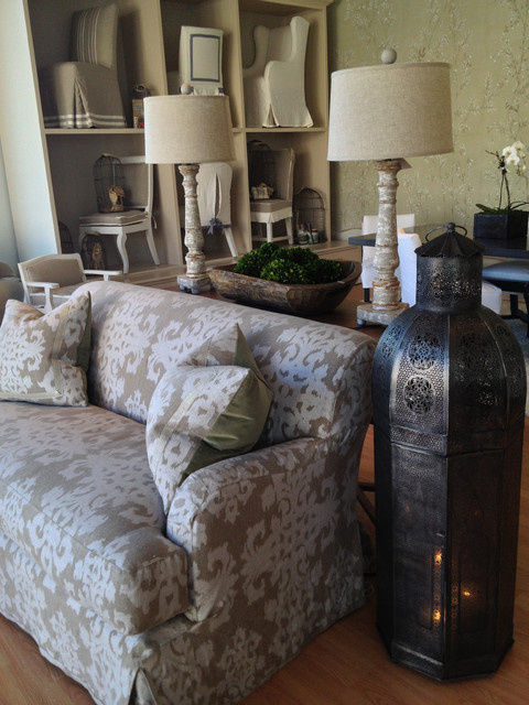 Slipcovers for Loveseats Living Room Farmhouse with Accessories Console Custom Made Damask