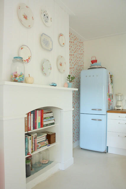 smeg refrigerator Kitchen Eclectic with CategoryKitchenStyleEclecticLocationAmsterdam