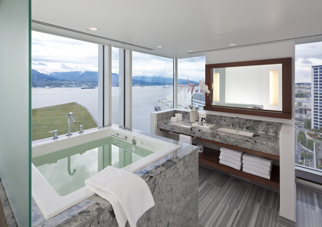 Soaking Tubs Bathroom Contemporary with Bath Accessories Bathroom Mirror