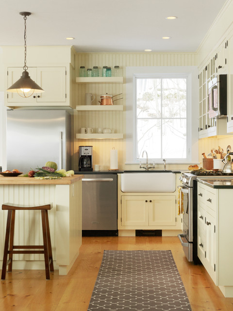 Soft Close Cabinet Hinges Kitchen Traditional with Apron Sink Beadboard Island