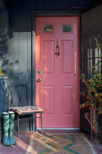 Solid Core Interior Doors Entry Shabby Chic with Bright Colors Charcoal Walls