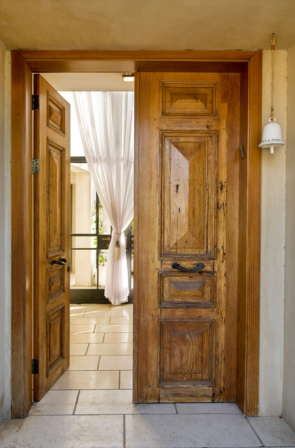 solid wood bookcase Entry Rustic with curtain door handle doorbell