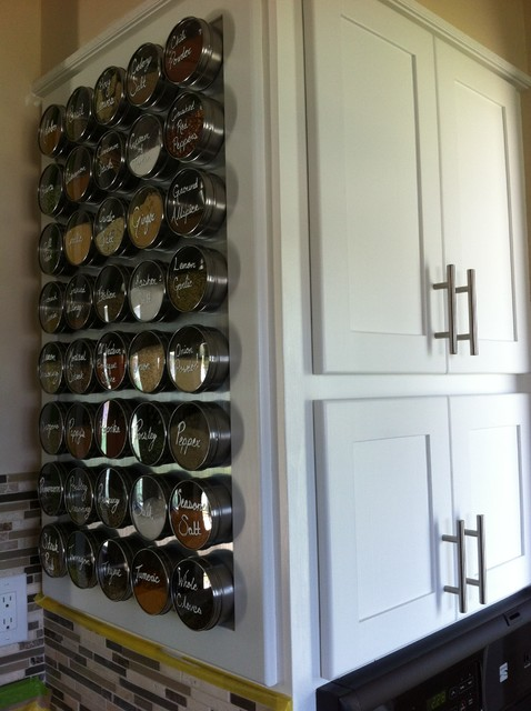 Spice Tins Kitchen Contemporary with Counter Top Overlay Spice1
