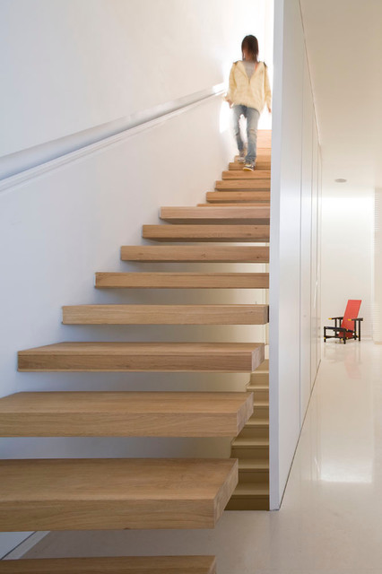 Stair Handrail Staircase Modern with Contemporary Floating Staircase Floating