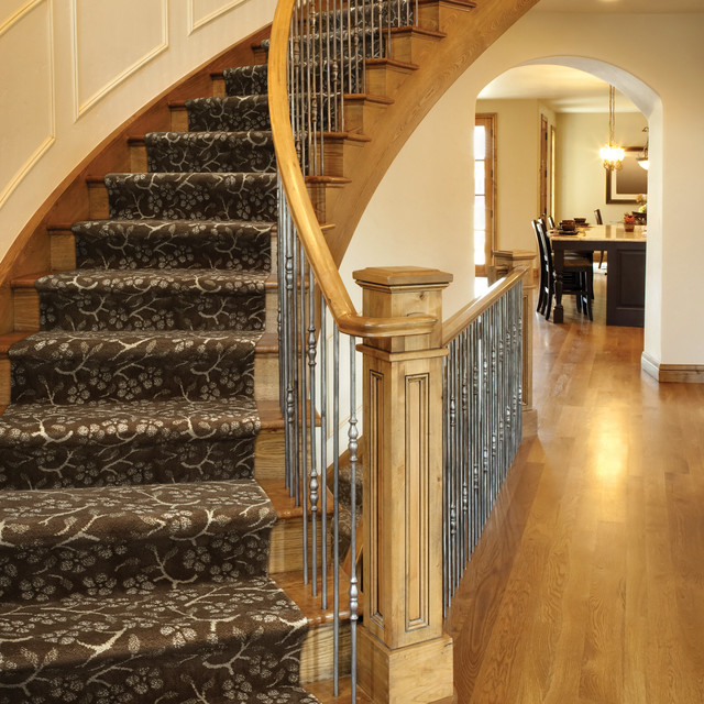 Stair Runner Staircase Contemporarywith Categorystaircasestylecontemporary