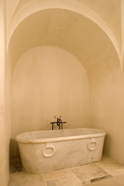 Stand Alone Tubs Bathroom Mediterranean with Alcove Bath Bathtub Free Standing