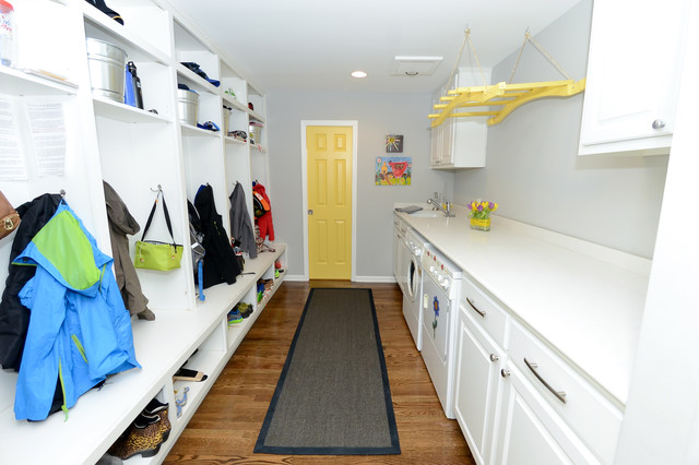 Standing Coat Rack Laundry Room Traditional with Built in Cubbies Built in Lockers