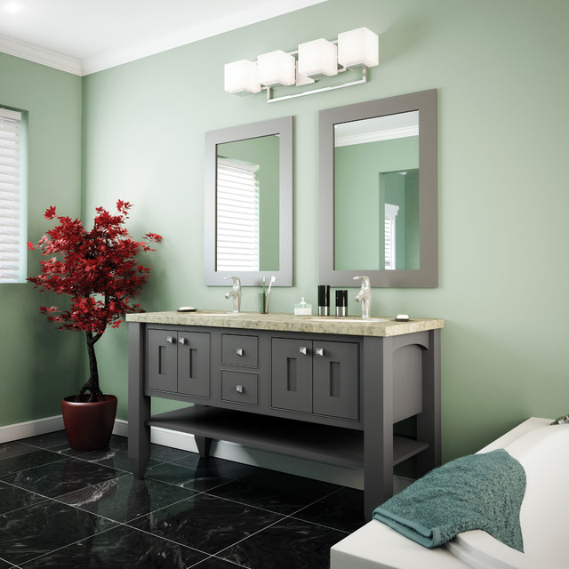 Starmark Cabinetry Bathroom Transitional with Bathroom Bathroom Mirrors Cabinet