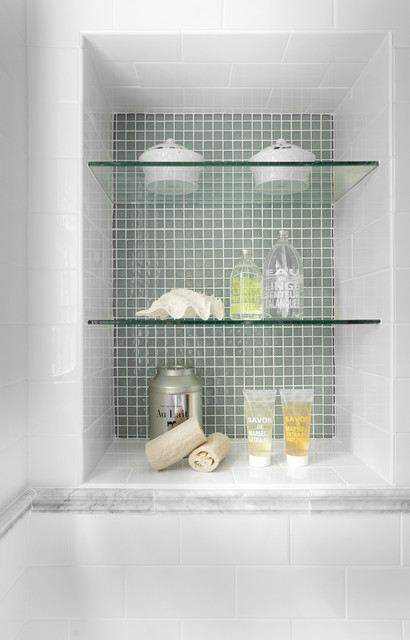 Starphire Glass Bathroom Traditional with Bathroom Shelves Bathroom Storage1