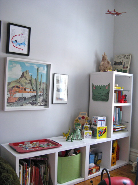 Storage Cubbies Kids Eclectic with Art Artwork Bookcase Bookshelves