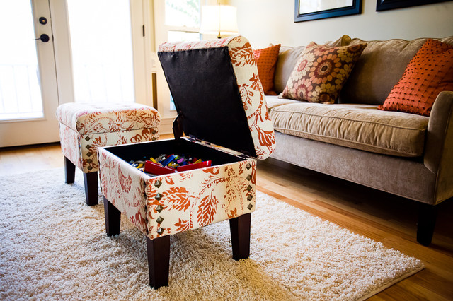 storage ottoman ikea Living Room Traditional with CategoryLiving RoomStyleTraditionalLocationCharlotte