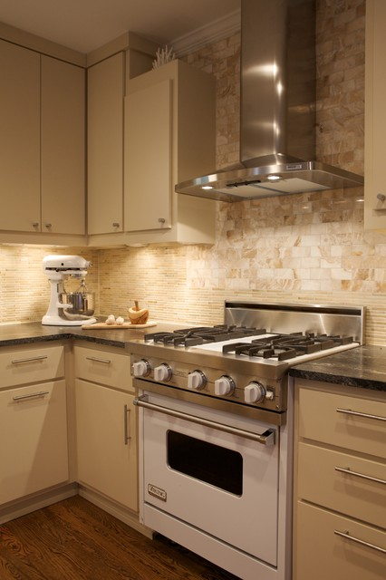 Stove Hoods Kitchen Contemporary with Kitchen Hardware Neutral Colors