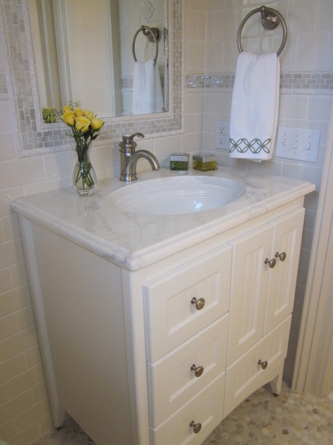 Strasser Woodenworks Bathroom Traditional with Accessories Countertop Faucet Kohler
