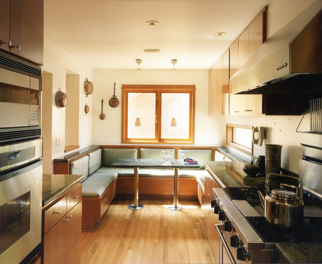 Sub Zero Refrigerator Prices Kitchen Modern with Built in Banquette Built in Bench