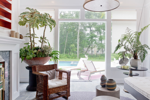 Succulent Arrangements Living Room Contemporary with Accent Tables Area Rug