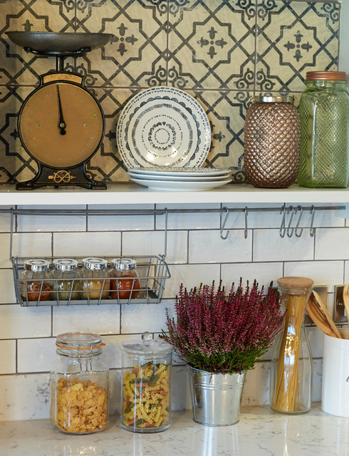 Suction Cup Hooks Kitchen Rustic with Beech Ply Bespoke Arm