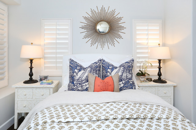 Sunburst Shutters Bedroom Beach with Beach Blue White Blue