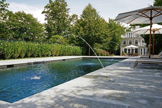 Swenson Granite Pool Traditional with Backyard Concrete Patio Deck