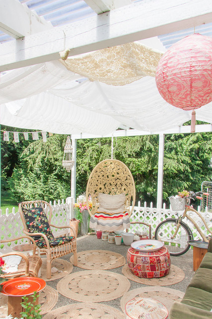 Swingasan Chair Patio Shabby Chic with Artist Deck Hanging Chair