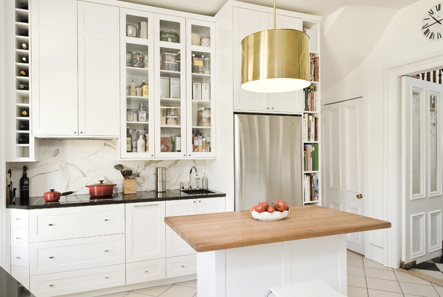 Tall Narrow Bookcase Kitchen Traditional with Angles Drawers Backsplash Bar