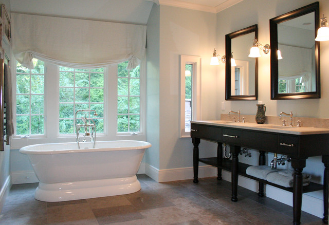 Tall Skinny Dresser Bathroom Traditional with Console Custom Mirrors Double