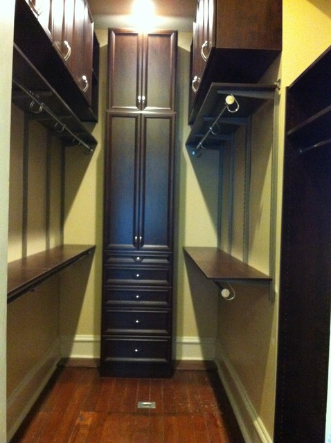 tall skinny dresser Closet Traditional with Adjustable shelving closed storage