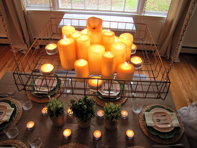 Tealight Candles Dining Room Farmhouse with Categorydining Roomstylefarmhouselocationphiladelphia