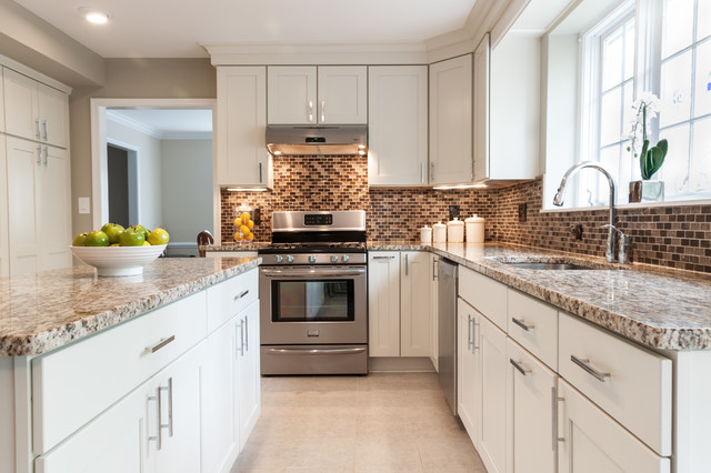Topknobs Kitchen Contemporary with Brown Cabinets to The