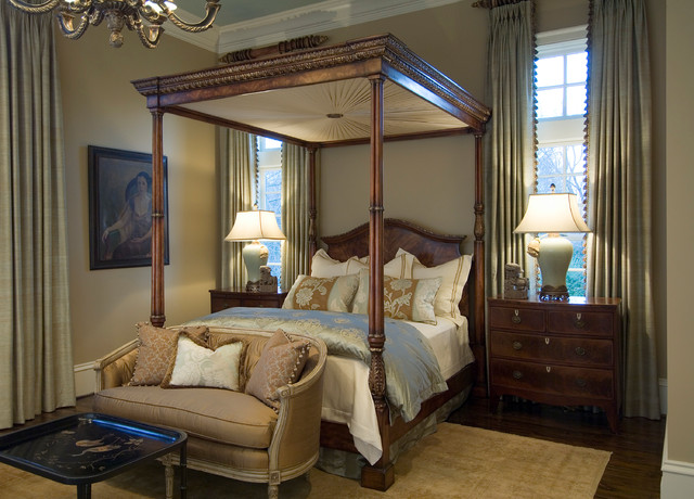 Traverse Curtain Rods Bedroom Traditional with Accent Pillows Antique Furniture