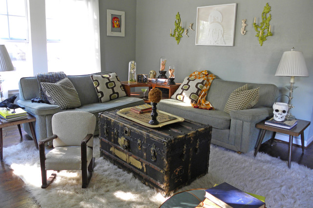 Tree Trunk Coffee Table Living Room Eclectic with Area Rug Celebration Childs