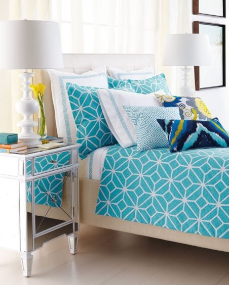 Trina Turk Bedding Bedroom Tropical with Trina Turk Bedding