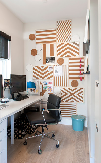 Trivets Home Office Contemporary with Black Task Chair Black