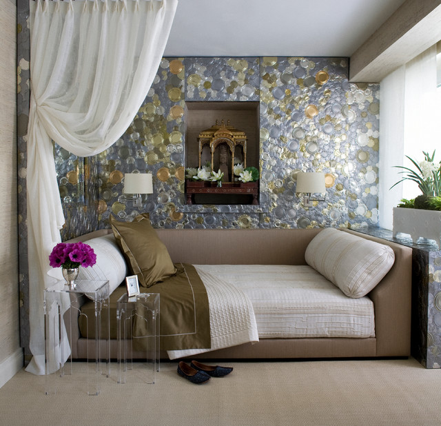 Trundle Daybed Bedroom Transitional with Daybed Exotic Bedroom Glamorous1