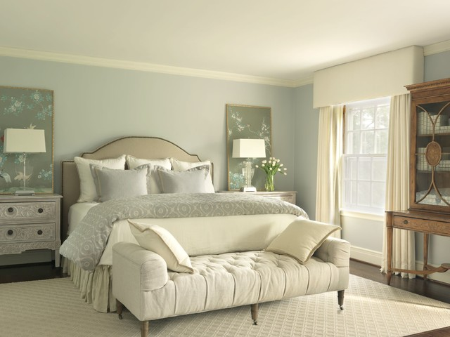 Tufted Bench Bedroom Traditional with Bedroom Bedroom Bench Bedskirt