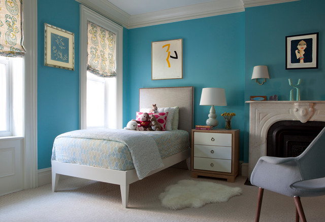Twin Xl Bed Frame Kids Transitional with Art Above Bed Art