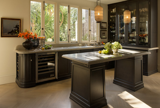 Uline Wine Cooler Kitchen Traditional with Antiques China Closet Contemporary