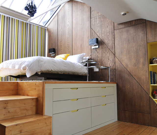 Underbed Storage Bedroom Contemporary with Bedroom Ideas for Teen